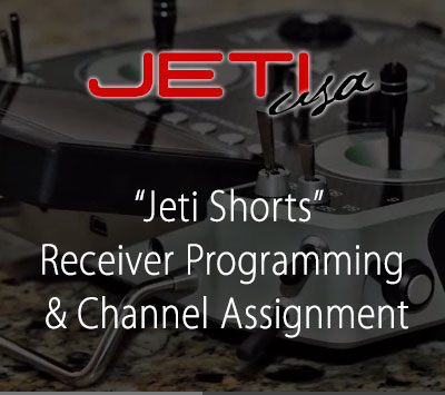 Receiver Programming & Channel Assignment