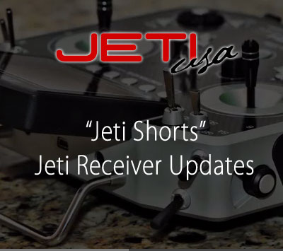 Jeti Receiver Updates