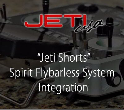 Spirit Flybarless System Integration