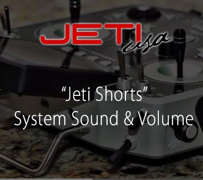 System Sound & Volume