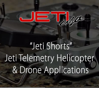 Jeti Telemetry Helicopter & Drone Applications