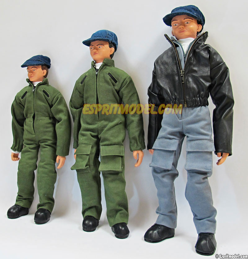 Pilots Full Body 1/4, 3.5, 3 Scale Military