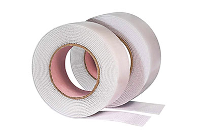 Hook & Loop Self-Adhesive Tape 3/4''/20mm (Sold by 12''/305mm) White