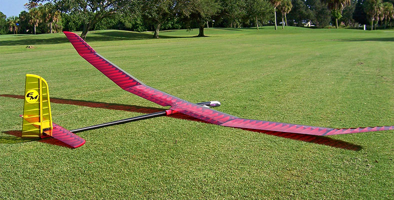 Store Display Pulsar 3.2E Pro REF Electric Sailplane (Receiver and Battery Ready)