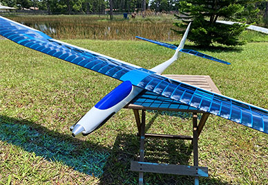 Store Display Albatros 3S/E Electric Sailplane (Receiver and Battery Ready)