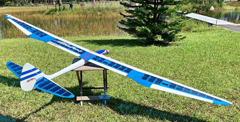 Store Display Albatros Classic Sport 3S/E Electric Sailplane (Receiver and Battery Ready)