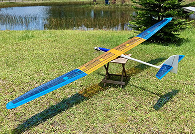 Store Display Grafas MAXi 3.5 Electric Sailplane (Receiver and Battery Ready)