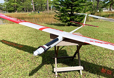 Store Display Samsara 3.2E Electric Sailplane w/Extras & Details (One of the Kind)