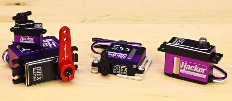 Hacker Ditex Digital Servos