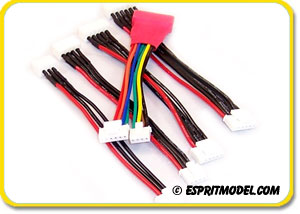 EM Balancing Adapters JST-XH to Thunder Power