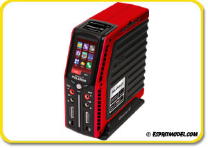 Graupner Polaron EX Multi Charger w/Balancer (7S/400W x2) Red