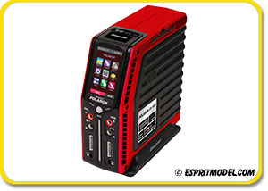 Graupner Polaron EX-1400 Multi Charger w/Balancer (8S/730W x2) Red