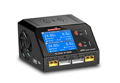 Ultra Power UP6 AC/DC Multifunction Charger, Balancer (6S/10A/400W)