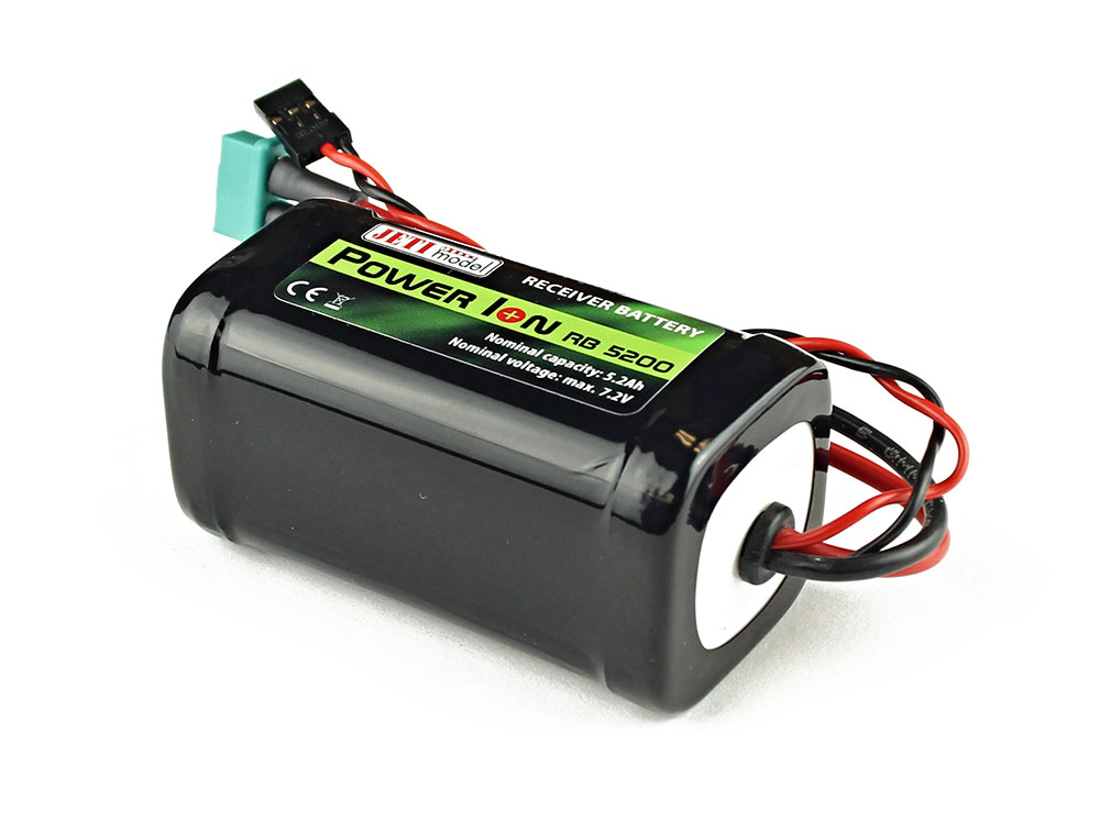 Jeti Receiver Battery Pack 5200mah 7 2v Li