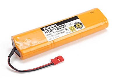 Transmitter Battery Pack 1800mAh 7.2V NiMH (Futaba 8FG/12FG)