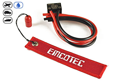 Emcotec Electronic Magnetic Switch DPSI 12V/20A CUBE Fuel Proof & Waterproof
