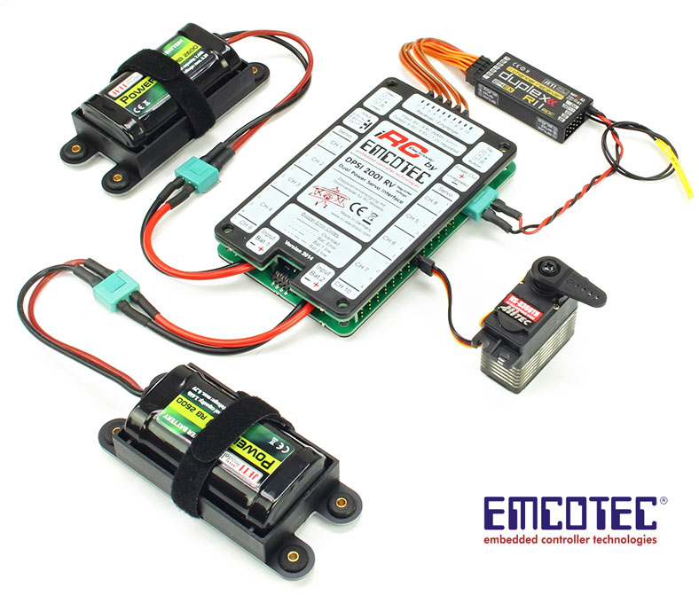 Emcotec DPSI RV Power Distribution System 12/32 Channel