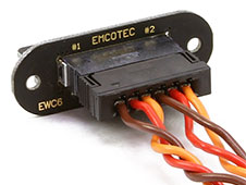 Emcotec EWC6 Servo Harness Set Dual 400mm