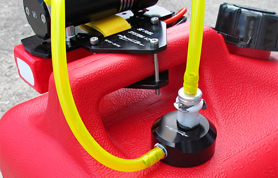Fuel Jerry Can Refueling Cap System w/Fittings V3