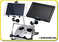 Transmitter Mobile Device Holder SE for Tray Dual Cross Member