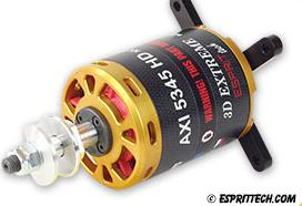 AXi 45cc 5345 HD 3D Extreme Outrunner Brushless Motors V2 w/Telemetry
