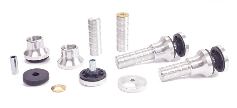 Motor/Engine Standoffs Super HD 20-55mm w/Adjustable Trust Angle & Vibration Dampeners (4)
