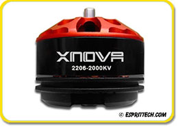 Xnova Supersonic Racing FPV 2206 Series Brushless Motor Combo