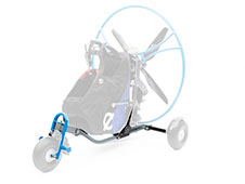Paramotor Backpack L Landing Gear Set