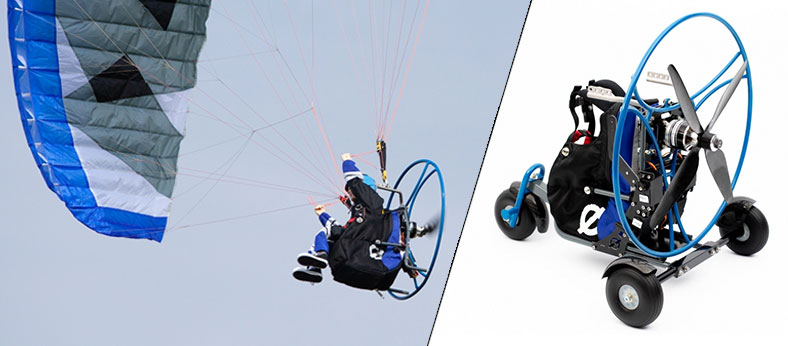 Paramotor Backpack L2 Landing Gear Set