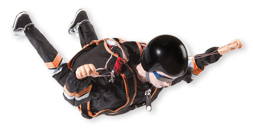 Opale Skydiver Steven (Orange)