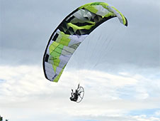 Paraglider Wing Camo Hybrid 2.6/3.67m Aerobatic High Performance