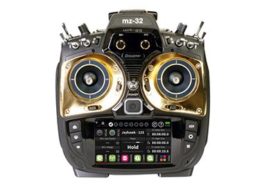 Graupner HoTT MZ-32 Radio Faceplate Set (Gold)