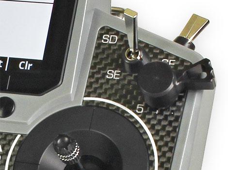 Jeti Transmitter Slide Levers DS-12 (2) Black
