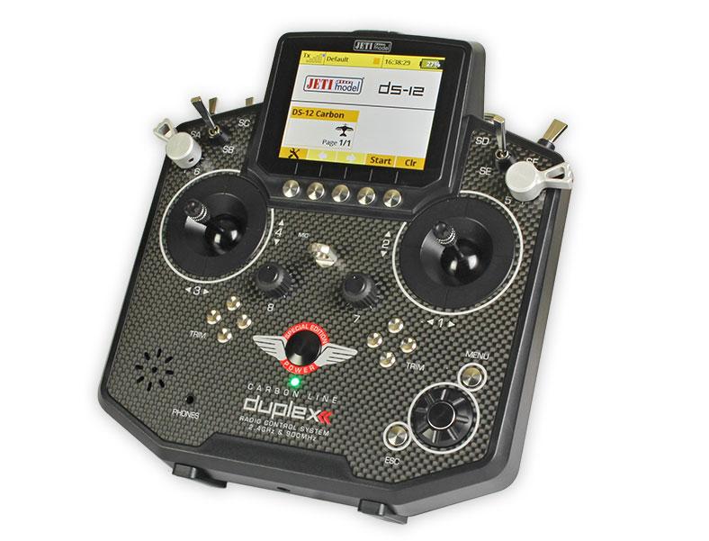 Jeti Transmitter Slide Levers DS-12 (2) Silver