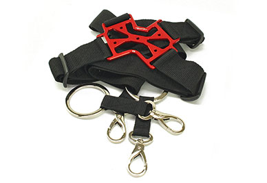 Transmitter 4-Point Harness Universal Lite V2 (Red, Black)