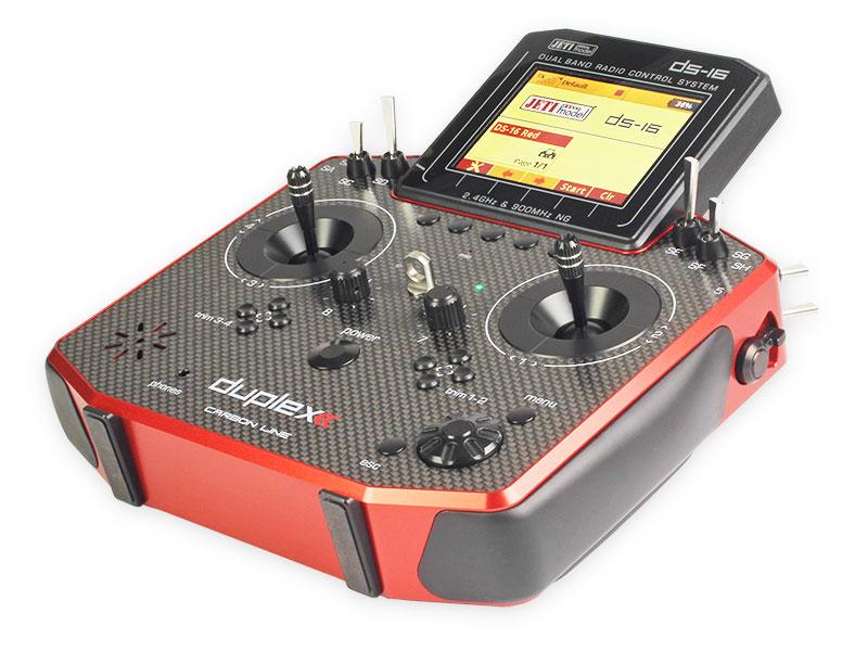Jeti Duplex DS-16 II 2.4GHz/900MHz w/Telemetry Transmitter Only Radio