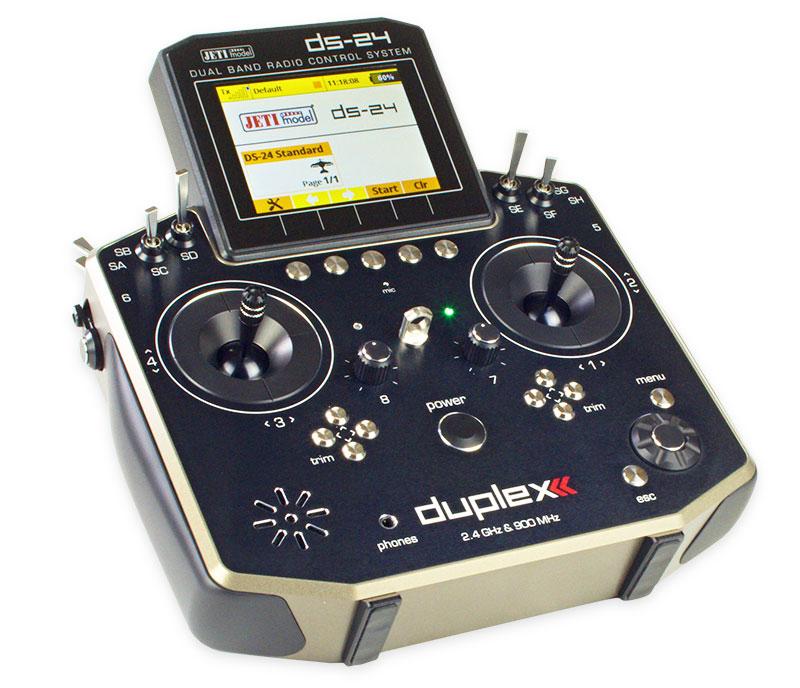 Jeti Duplex Ds 24 2 4ghz 900mhz W Telemetry Transmitter