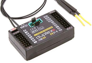 Jeti Duplex EX R14 2.4GHz Receiver w/Telemetry