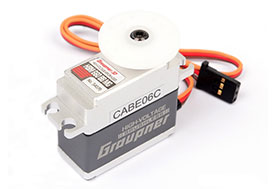 Graupner HBM 660 BBMG High Torque Metal Mini 7.4V Brushless Servo (16mm)