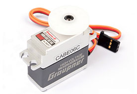 Graupner HBM 690 BBMG High Speed Metal Mini 7.4V Brushless Servo (16mm)