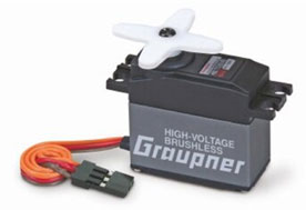 Graupner HBS 770 BBMG High Speed Standard 7.4V Brushless Servo