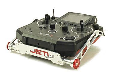 Transmitter Tray/Stand Aluminum Jeti DS-12