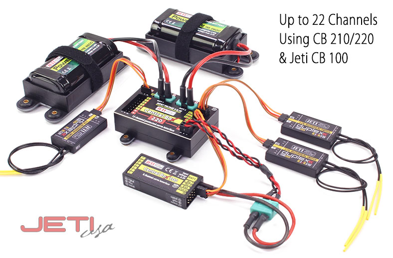 Jeti Central Box 100 Power Distribution Unit