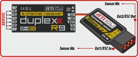 Jeti Telemetry Sensor Mvario2 Ex Variometer F5j Ales