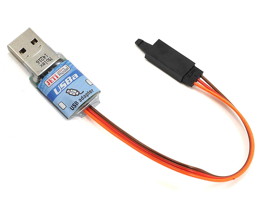 Jeti Telemetry Usb Adapter Wiring A Connector Spin Esc Jetibox Mini Monitor Programmer The
