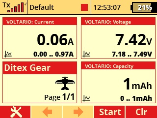 Jeti Telemetry Sensor Fuel Flow MFlow Gas EX
