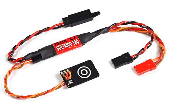 Elite Jeti Telemetry Sensor Current/Voltage/Capacity & RC Power Touch Switch Voltario T30 12V/10A