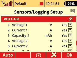 Elite Electronic Dual Power Redundant Switch w/Backup Battery Management & Telemetry Voltario T60 ESC (Jeti EX, Graupner HoTT, Futaba S.Bus2)