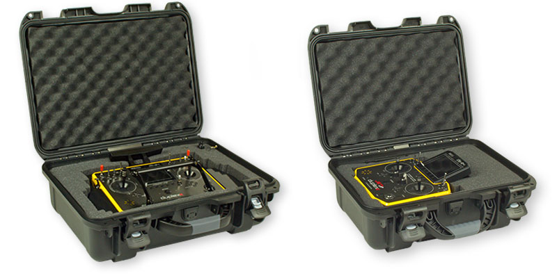 Transmitter Hard Case Water, Dust, Crash Proof (Type 25) Black