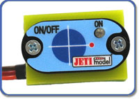 Jeti Electronic Switch Dual with Magnetic Key DPS 40